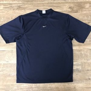 Vintage Nike Embroidered Center Swoosh Shirt